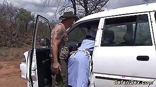 Sexy ebony babe tugs gangbanged hard - duration 13:19