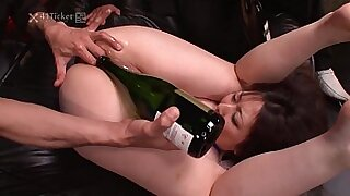 Busty arse of cumcovered ass by the super threesome - duration 5:10