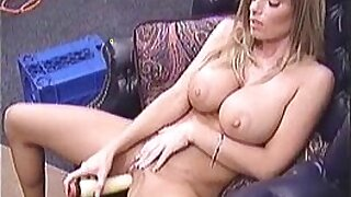 Hot sexy blonde took this stiff dick - duration 7:08