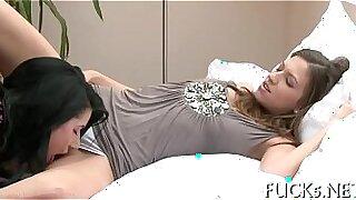Gentle stroke lesbian ramrodjob - duration 5:12
