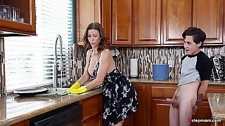 Step son brings mom new steaming - duration 5:26