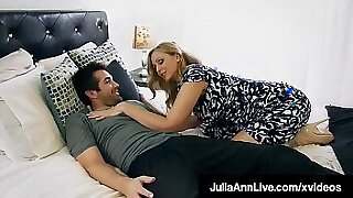 Crazy mom loves step son fuck and facial - duration 10:30