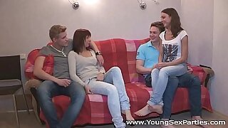 Three Party For Two Young Girl - duration 7:22
