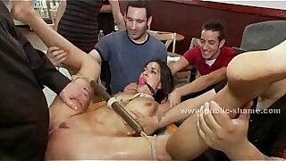 Naked in jail, she is a dirty slut! - duration 4:38