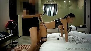 Asian chick fucked in different positions - duration 17:01