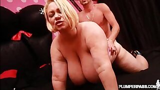 Chubby Mature Cougar Has Trick Sex With Dildo - duration 5:20