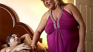 Busty blonde bbw Abbi big cock fuck - duration 10:50