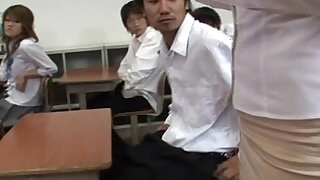 My teacher gets some gangbanged - duration 22:00
