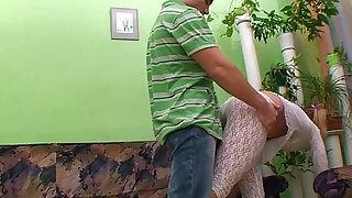 Stiefmutter - Ponytailed Horny Stepsister Gets Tight Anal Fucked