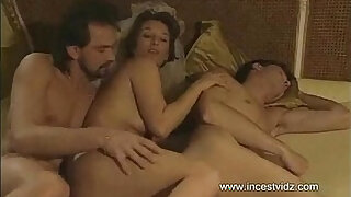 Mom tries to entice her son into threesome with her boyfriend - duration 13:00