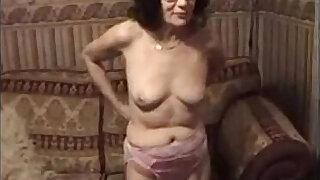 Grandmother Stripping And Masturbating - duration 12:00