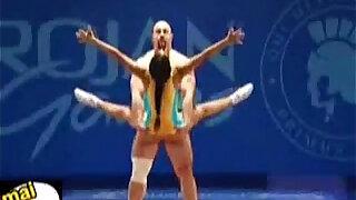 gymnastique sexe WTF fun - duration 0:50