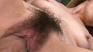 Group of guys spread her legs wide open and finger her gaping pink hole - duration 5:00