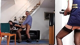 Milf stockings creampied - duration 10:00
