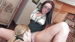 Avy Scott and Jayden James are Lesbian Housemaids - duration 19:00