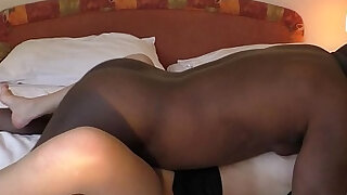 young wife fucked black buddy on cam - duration 16:00