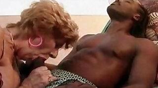 Lusty Granny Goes Black - duration 20:00