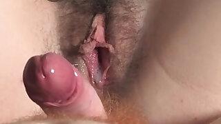 Hairy couple fucking - duration 5:00