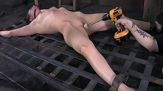 Casey Calvert metal bondage pt of - duration 10:00