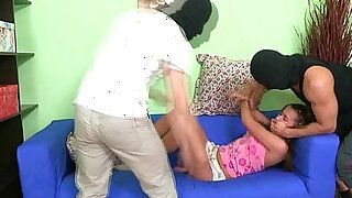 Pretty hot girl kneels - duration 5:00