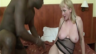 Hot Blonde Screwed By A Black Cock In The Ass - duration 19:00