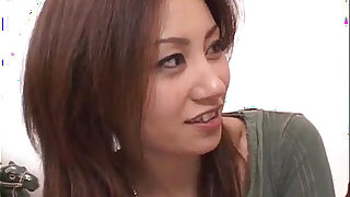 Nana Nanami gets cocks in mouth and hairy cunt and cum after - duration 10:00