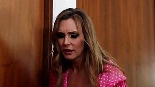 British slut Tanya in NOT a lesbian taboo threesome - duration 0:00