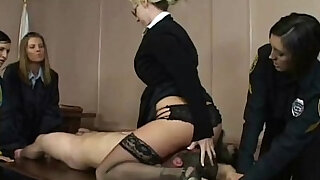 Cfnm bitches facesit and cock play - duration 5:00