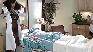 Doctor Adventures Genital Hospital scene starring Angelina Valentine and Chris Strokes - duration 8:00