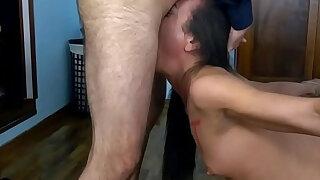 Nataly Gold Slut Throat Fuck - duration 1:00