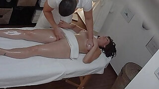 Busty MILF Fucked During Massage - duration 8:00