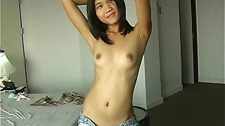 Luscious Asian ex girlfriend with tiny pussy - duration 5:00