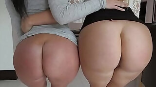 Big butt sluts share cock - duration 7:00