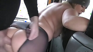Nasty blonde rims and bangs in cab - duration 6:00