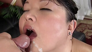 Asian plumper Kelly gets pussy filled up with hard cock - duration 8:00