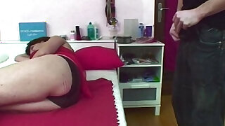 Jerking Stepson Caught And Fucked By Mom - duration 12:00