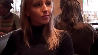 Fucking and blowjob in public bathroom - duration 7:00