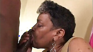 Ebony Old Grandma Helping Me - duration 23:00
