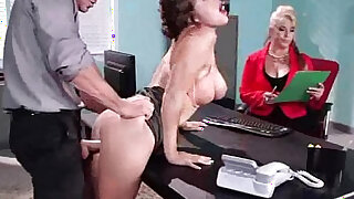 Hot Sexy european Girl krissy lynn With Round Boobs Get Sex In Office 20 - duration 8:00