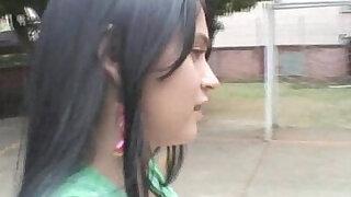 Jovencita Tetona Haciendo Anal - duration 6:00