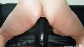 Sarahs colossal dildo fucking penetrations - duration 6:18