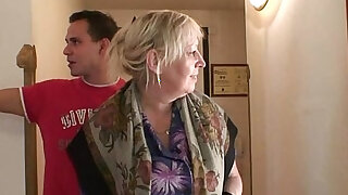 Busty granny is picked up by young stud - duration 6:00