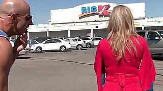 Busty milf Savannah Jane gets picked up from the mall for a fuck fest - duration 31:00