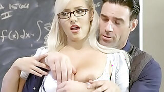 latino - Big Tits at School Math Can Be Stimulating scene starring Kylie Page and Charles Dera