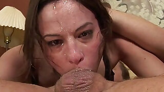 Messy and wildest blowjob in history - duration 5:00