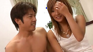 Erena Kurosawa in hot pants strips to have her pussy filled with meat - duration 5:00