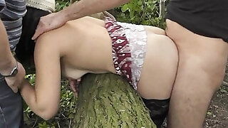 Wife pissed on by plenty of guys - duration 5:00