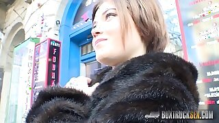 Emily Rone gets naked in public - duration 12:04