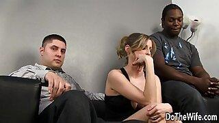 White girl bangs black wife - duration 8:53