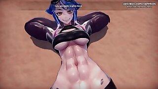 3D Hentai Girls Mura Bukano Teen Big Tits Booty n Fun! - duration 10:50